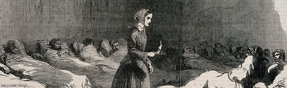 Florence Nightingale Lady With Lamp