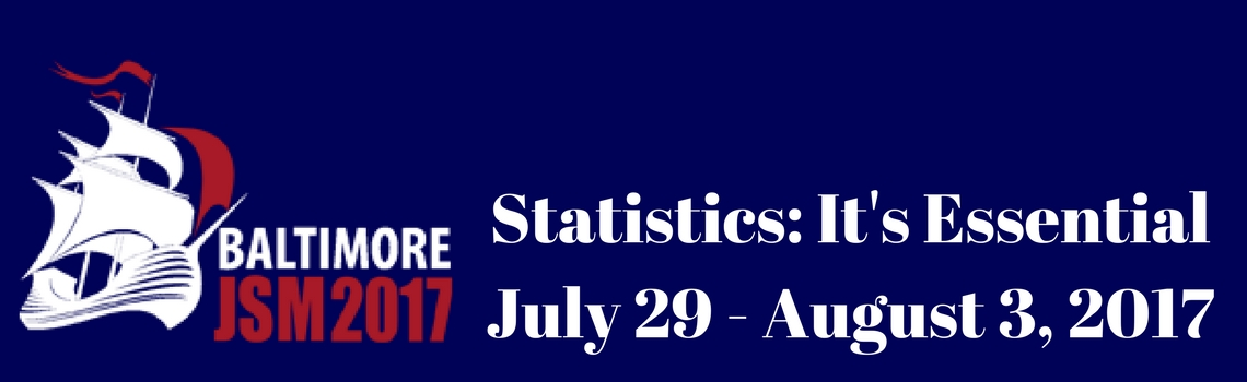 Statistics- It's EssentialJuly 29 - August 3, 2017Baltimore Convention Center